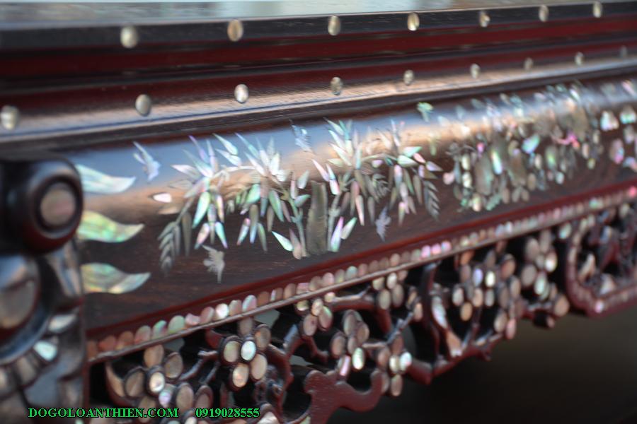 bàn ghế vách tàu thảm khốc VT02