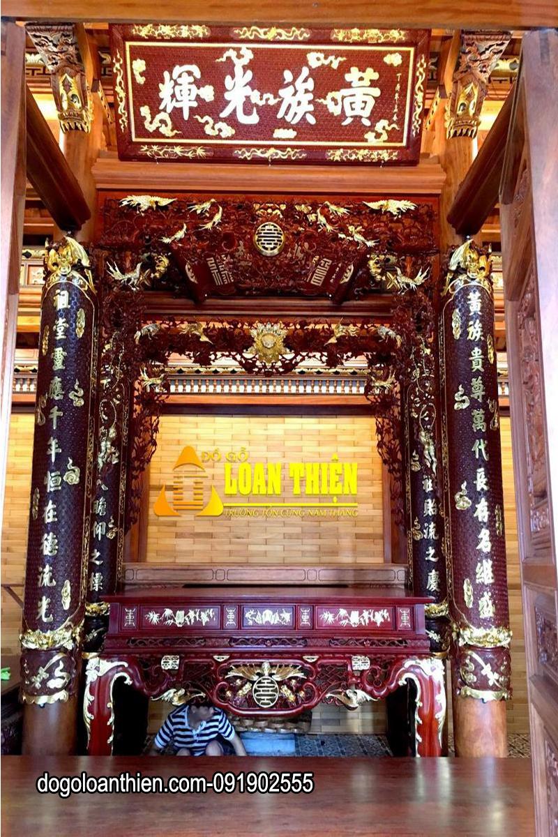 đồ thờ sơn son thiếp vàng