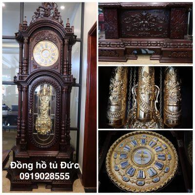 Đồng hồ cây mạ vàng của Đức